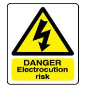 Warn143 - Danger Electrocution